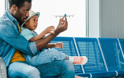Comment occuper les enfants en avion ?   Nos astuces !