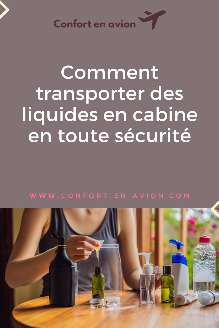 Transportez vos liquides dans votre bagage cabine en toute sérénité. Découvrez des trousses pour avion tout spécialement adaptées aux voyages en avion.
