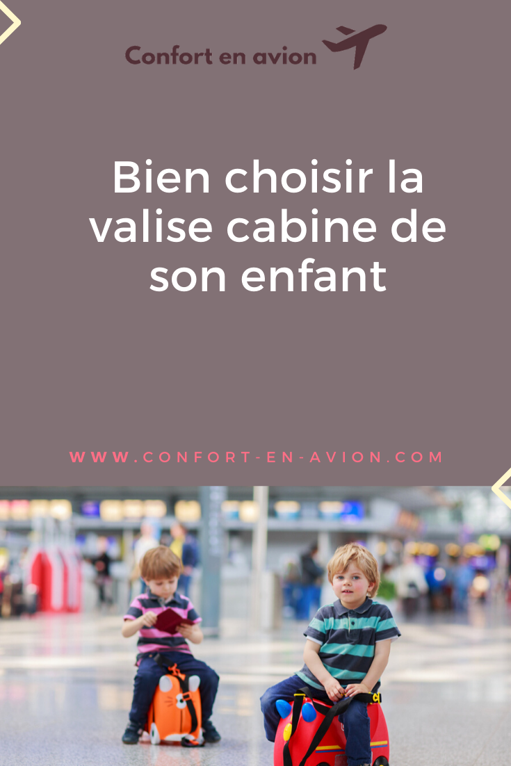 L'heure du voyage approche et votre enfant veut avoir son propre bagage. Alors pourquoi ne pas craquer pour une valise cabine spéciale pour votre enfant ?